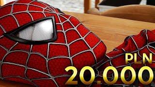 STRÓJ SPIDER-MANA ZA 20.000ZŁ