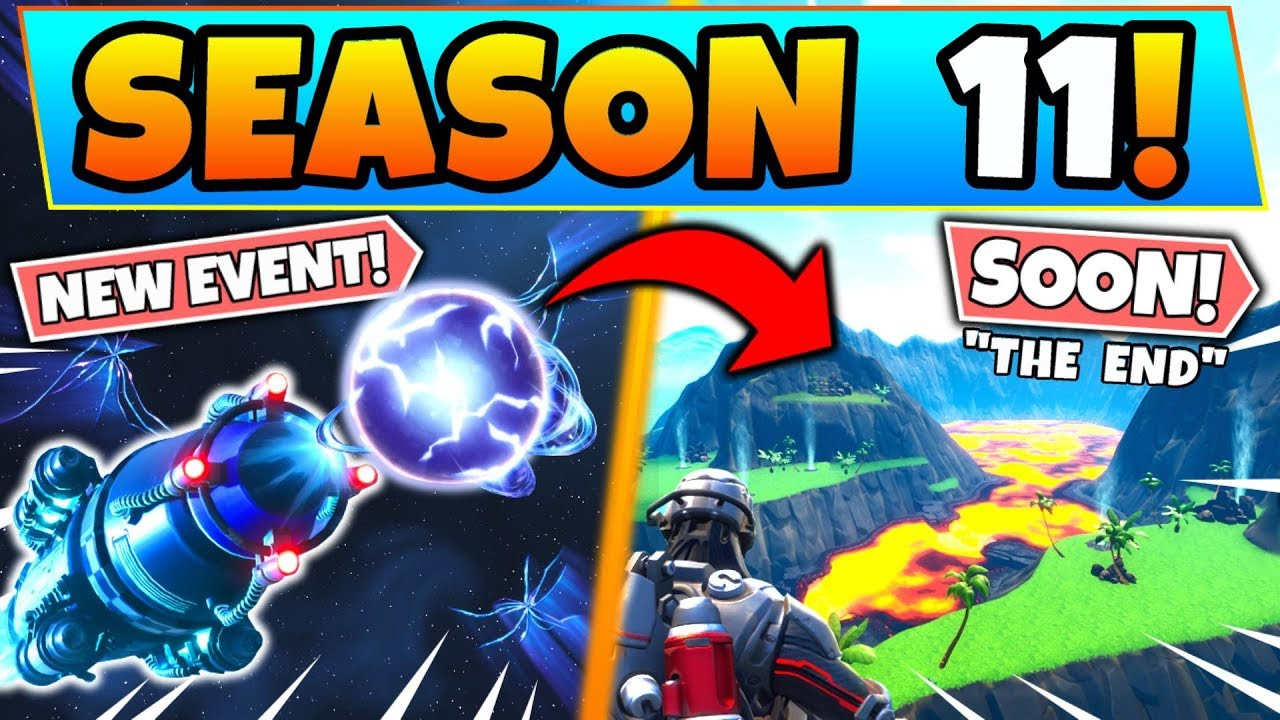 *NEW* Fortnite EVENT SOON WILL END THE MAP in SEASON 11 ...