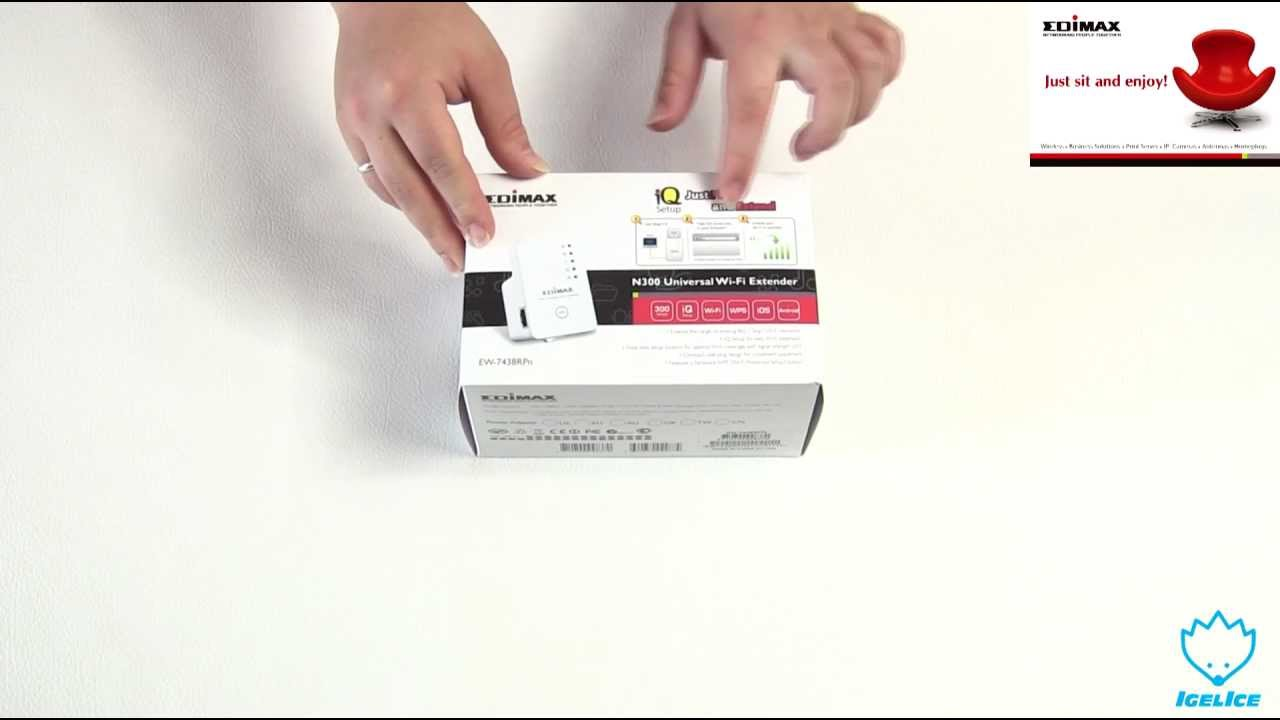 Edimax N9 Universal Wi-Fi Extender EW-9RPn Unboxing & Kurzreview
