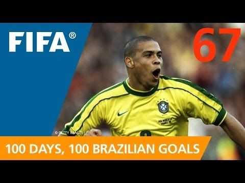 100 Great Brazilian Goals: #67 Ronaldo (France 1998)