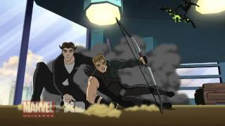 "Spider-Man Celebrates - ""Marvel's Ultimate Spider-Man: Web Warriors"" - Ep. 22, Clip 1"