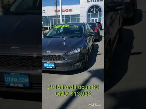 --FOR SALE-- 2016 Ford Focus SE-- ONLY $13,932!
