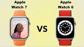 Apple Watch Series 7 Aluminum VS Apple Watch Series 6 Aluminum |
