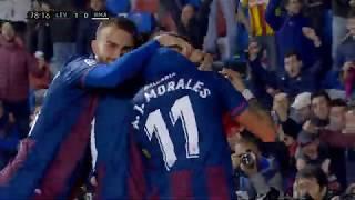 Fantastičan Gol Moralesa za Pobedu Levantea nad Realom   SPORT KLUB FUDBAL
