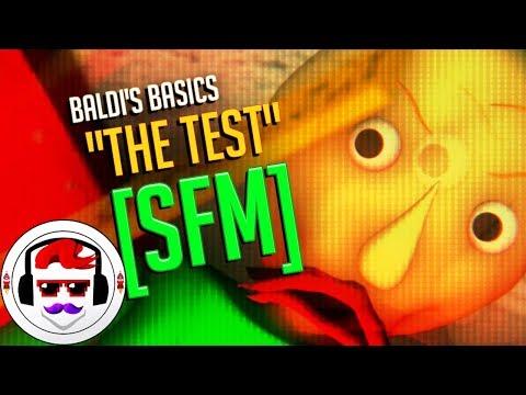 [SFM] BALDI'S BASICS RAP SONG | The Test | Rockit Gaming