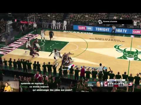 Soirée Live Twitch My GM NBA 2K15 avec les Bucks