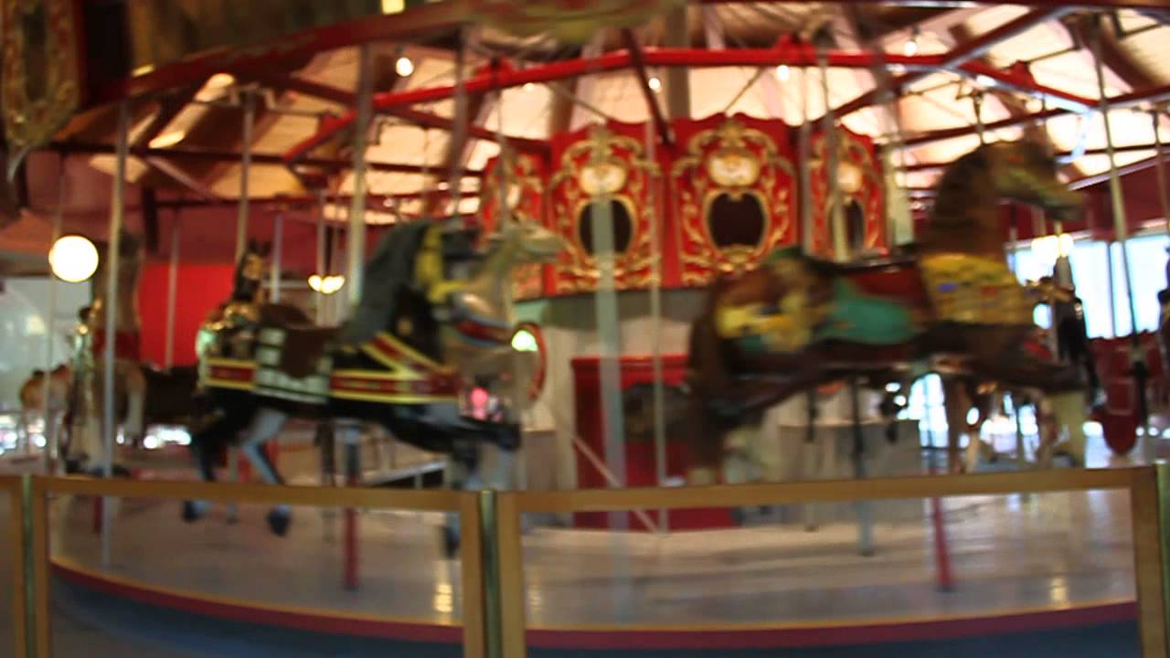 heritage museum and gardens carousel - YouTube