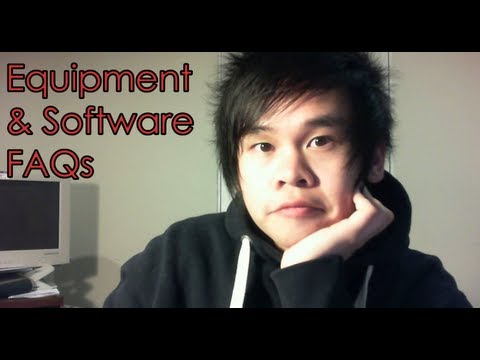 Equipment + Software FAQs