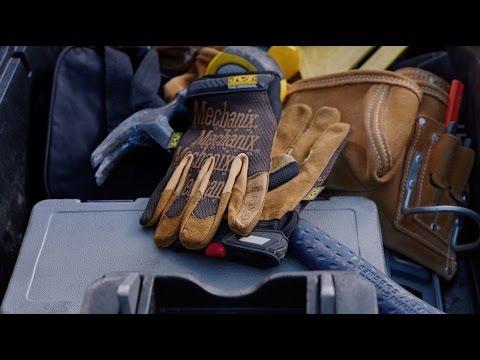 Mechanix Wear DuraHide Leather Work Gloves