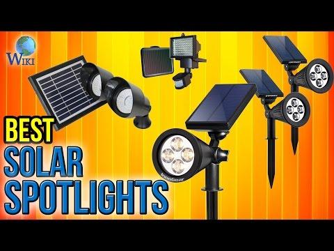 10 Best Solar Spotlights 2017