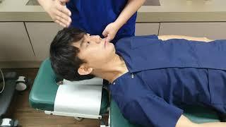 목통증. 어지럼증 원인 흉쇄유돌근
