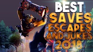 BEST Saves, Escapes & Jukes of 2018 - Dota 2