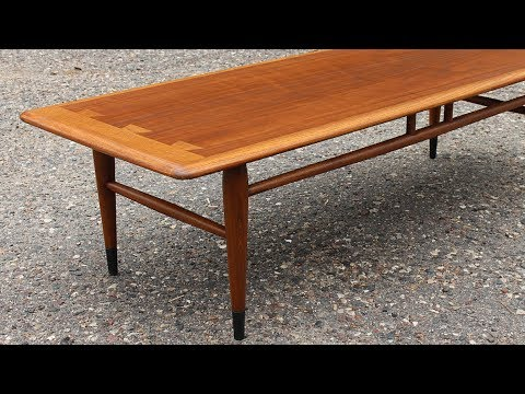 Download $15 Garage Sale Mid Century Table Gets a Refinish