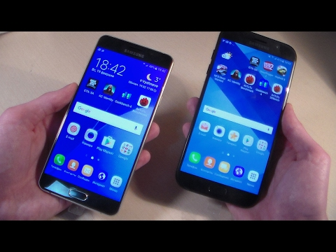 Samsung Galaxy A7 2017 vs Samsung Galaxy A7 2016