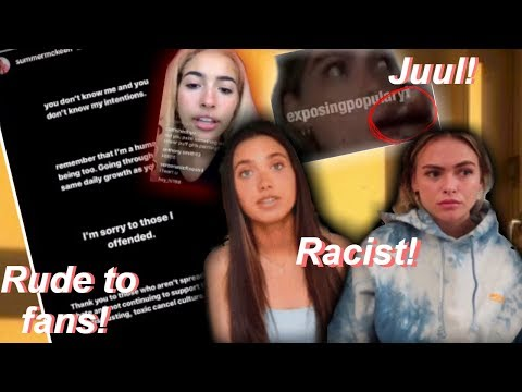 Hannah Meloche & Summer Mckeen EXPOSED! (rude, racist) thumbnail