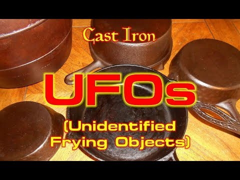 Cast Iron UFOs: Unidentified Frying Objects