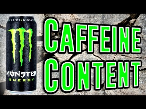 Caffeine Content of Popular Energy Drinks Compared