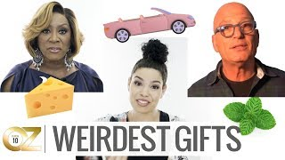 What Are the Weirdest Gifts Celebrities Have Ever Received?