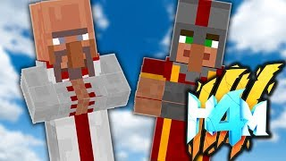 ONLY THE GOD VILLAGERS SURVIVE!  HOW TO MINECRAFT 4 #70 (Minecraft 1.8 SMP)