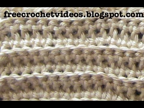 Crochet Rib Stitch Youtube