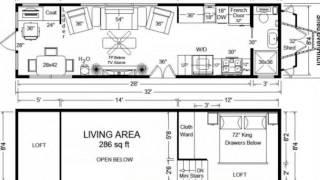 Tiny House Floor Plans: 32' Long Tiny Home On Wheels Design