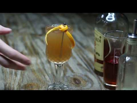 Regalo: Bacardi Legacy Cocktail of Cedric Mendoza (Senior Bartender at Singapore Manhattan)