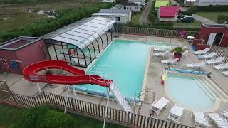 Le Camping du Port à Landrellec (22) vu du ciel!!!