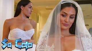 Nikki Bella is 'not excited' when trying on wedding dresses