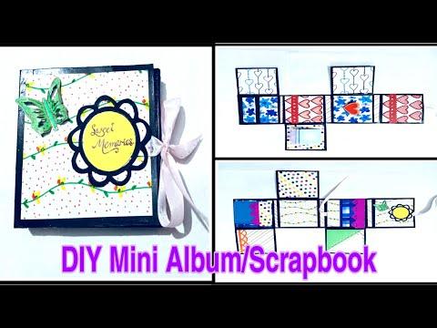 DIY Mini Album/Scrapbook | How to make Mini Album /Scrapbook using waste cardboard