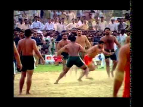 Kabaddi: Pakistan Vs India at Chishtian 2008 pt1 Travel Video