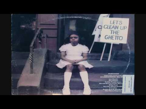 The Philadelphia International All-Stars: Let's Clean Up The Ghetto LP 1977