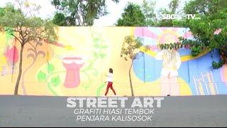 STREET ART - Karya Seni Mural Hiasi Tembok Penjara Peninggalan Kolonial