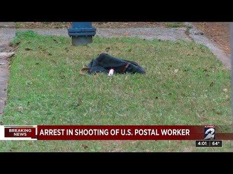 Arrest In Shooting Of U.S. Postal Service Worker