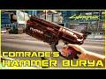 Gambar cover Cyberpunk 2077 - Unique Weapons - Iconic Comrade's Hammer Tech Revolver RT 46 Burya