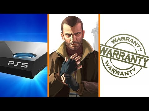 How Long Until PS5? + GTA IV Removing Music + Legal Smackdown on Warranties