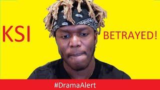 KSI BETRAYED! #DramaAlert Ricegum , Leafy & KEEMSTAR! - Ninja MAD!