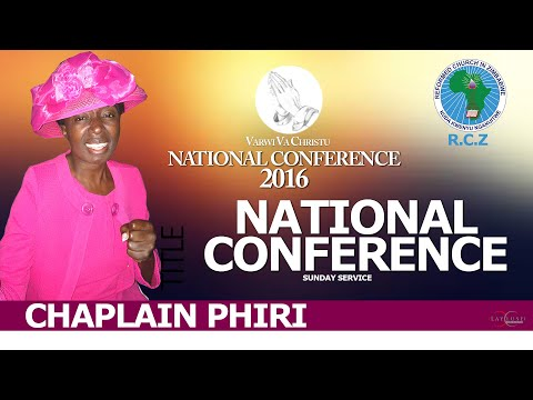 Varwi VaKristu 2016 National Conference Disk 11- Speaker:  Mufu Phiri