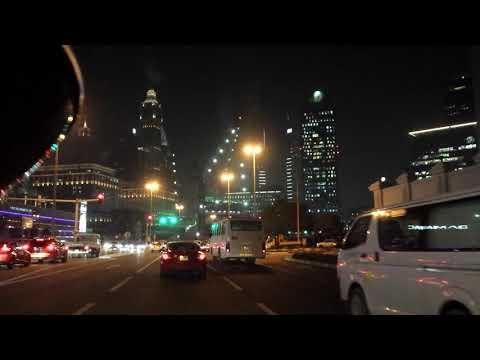 NIght Driving at Beautiful Dubai p1
