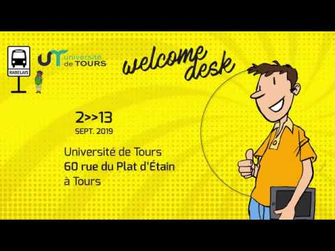 Welcome Desk : accueil des étudiants internationaux
