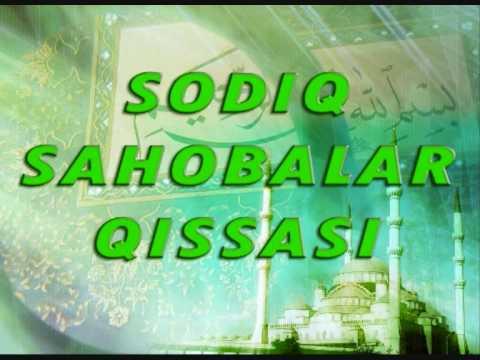 sodiq sahobalar qissasi 32 Hazrat Umar ibn Xattob (r.a) -2