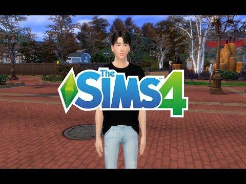 Kim TaeHyung  BANGTAN   BTS Sims 4 CAS Ким Тэхён Симс 4