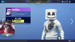 NEW SKIN MARSHMELLOW IN THE FORTNITE STORE! FRIDAY, DAY 01/01/2019--🦷 🦷-