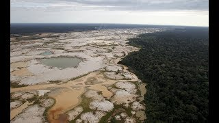 Gold mining leaves heart of Peruvian Amazon a wasteland