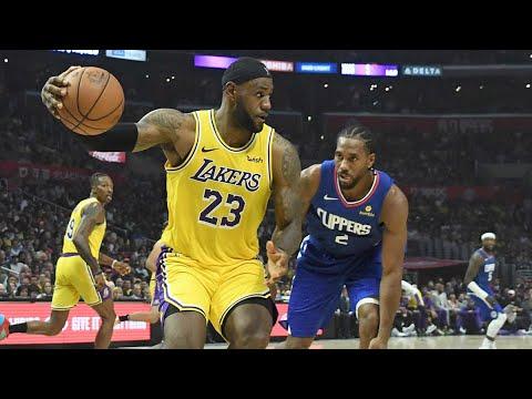 Lebron James VS Kawhi Leonard - All 1 On 1 Plays   2019-20 NBA Season