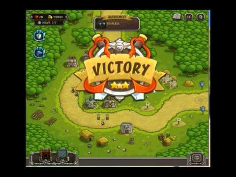 Hack vàng và điểm skill game Kingdom Rush