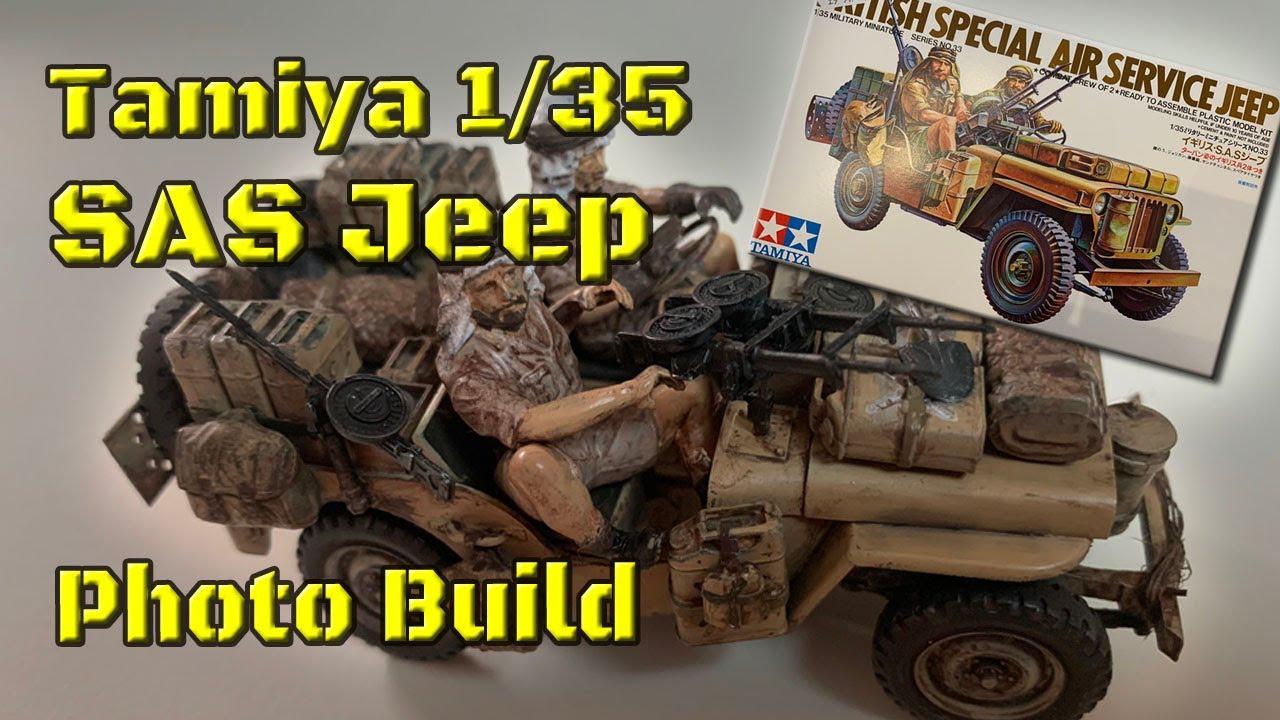 eduard 35797 1//35 Armor Willys Jeep SAS for Tamiya