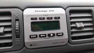 """Ремонт Бортового компьютера """"Prestige U12"""" УАЗ Патриот"""