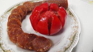 Куриная сыровяленая домашняя колбаса | ПРОСТОЙ и вкусный рецепт