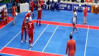 2014 카바디 Incheon asian game kabaddi final IRAN vs INDIA (women)