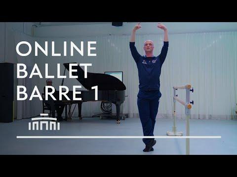 Ballet Barre 1 (Online Ballet Class) Dutch National Ballet